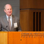 Speaking at the Chemical Heritage Foundation (Conrad Erb-Conrad Erb Photography)