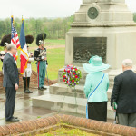 Wreath-laying at Valley Forge-  French Alliance Day May 1,2016